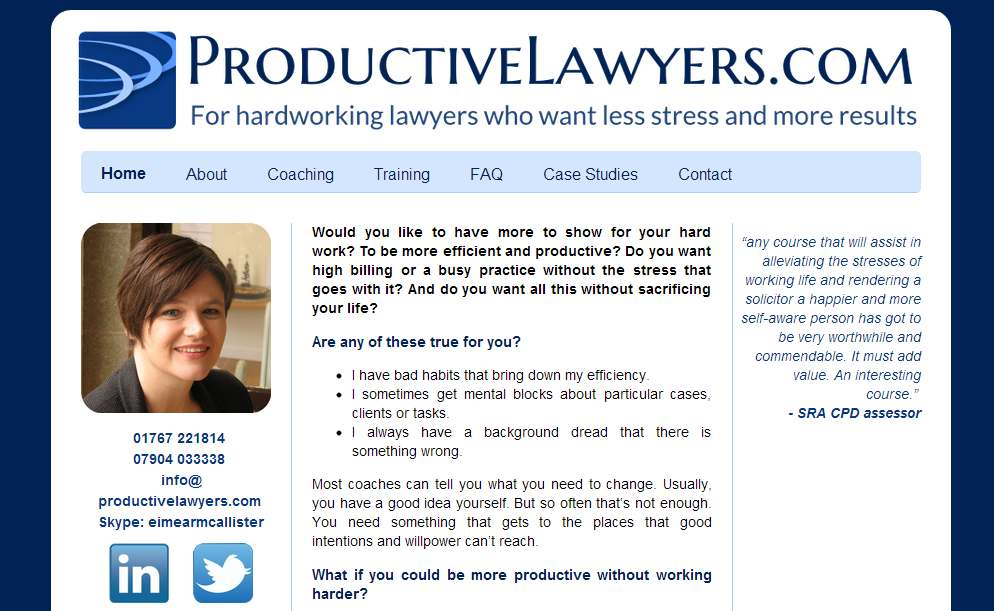 productive lawyers snapshot